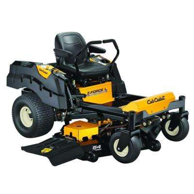 Z-Force L 54 in. 25 HP Fabricated Deck KOHLER Pro V-Twin Dual-Hydro Zero-Turn Mower with Lap Bar Control
