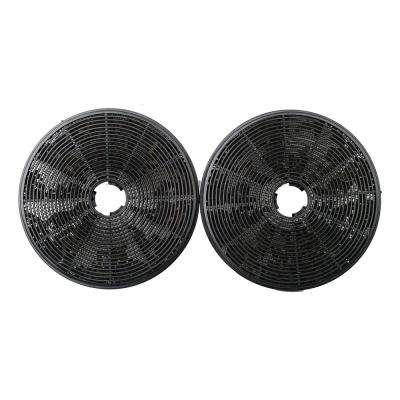 Charcoal Filters for Glass Wall Mount Range Hood (2-Pack)