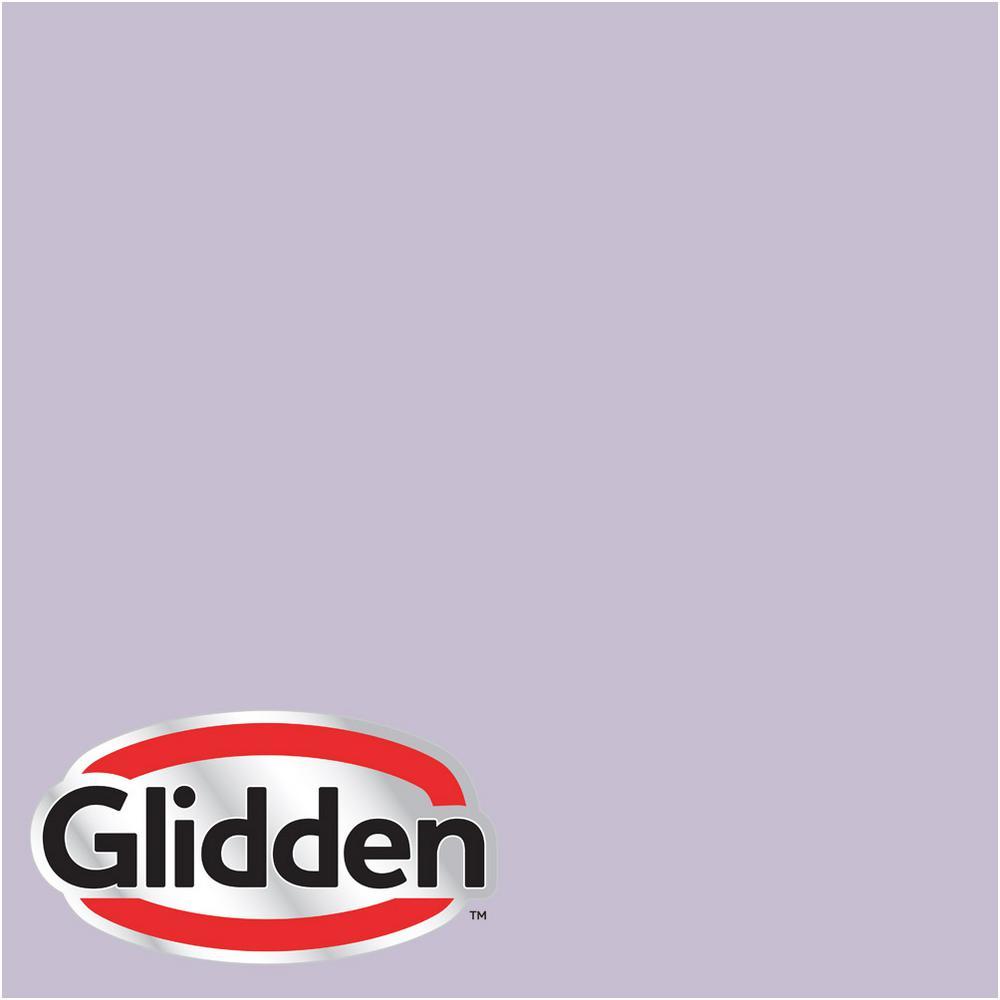 Glidden Premium 5 gal. #HDGV62 Quaint Purple Rose Satin Interior Paint with Primer