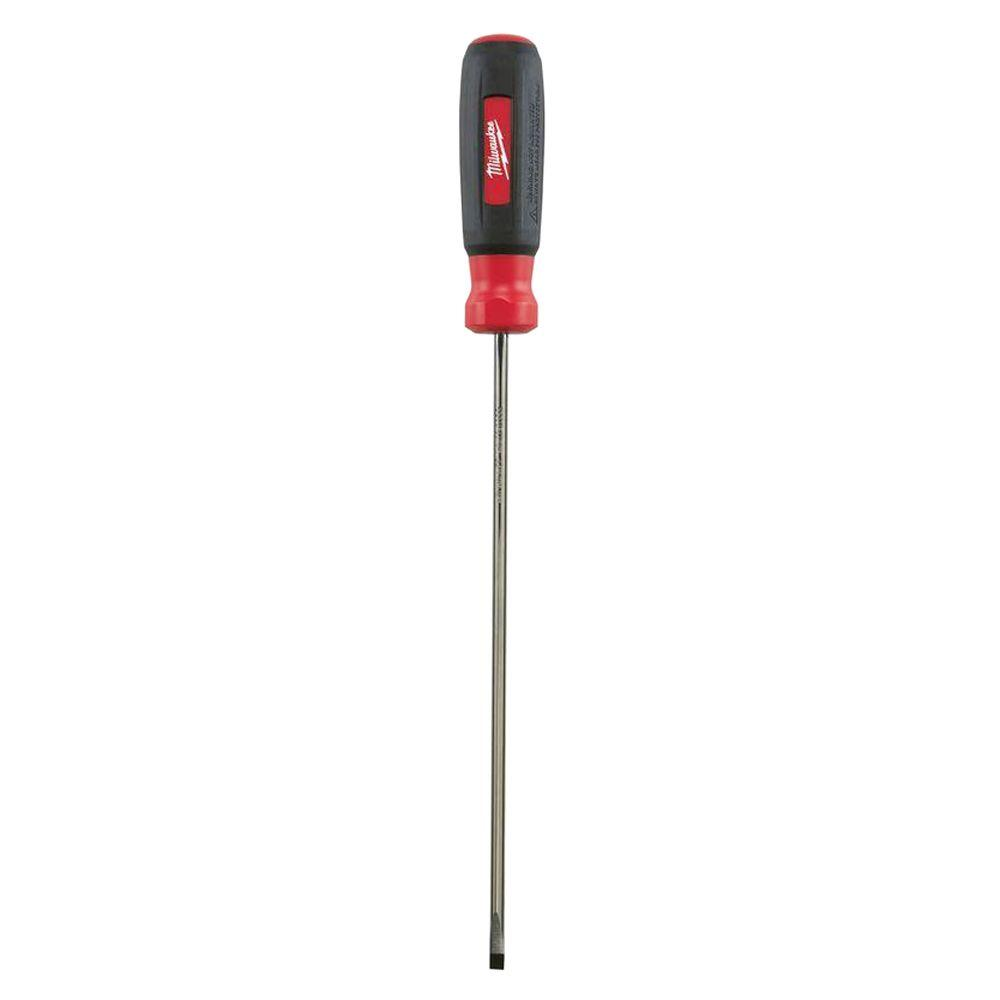Milwaukee 3/16 in. x 8 in. Cabinet Screwdriver