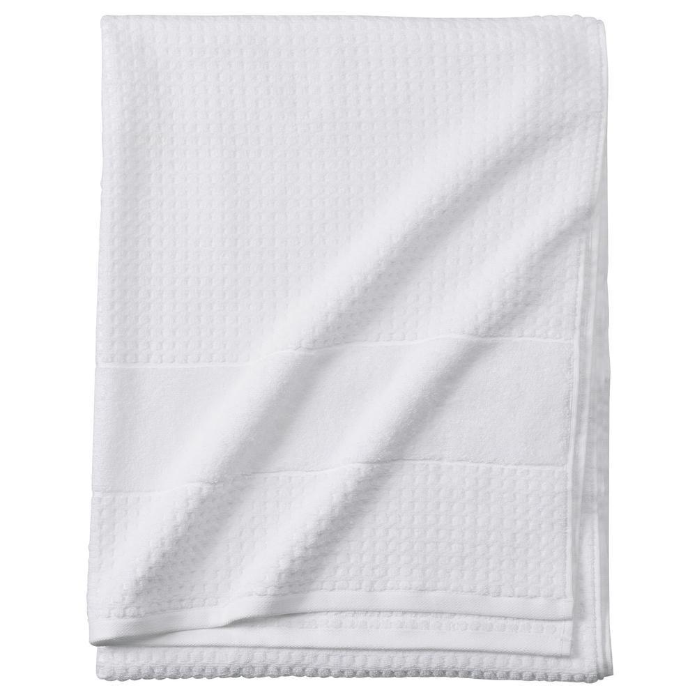 Fairhope 1-Piece Turkish Bath Sheet in White