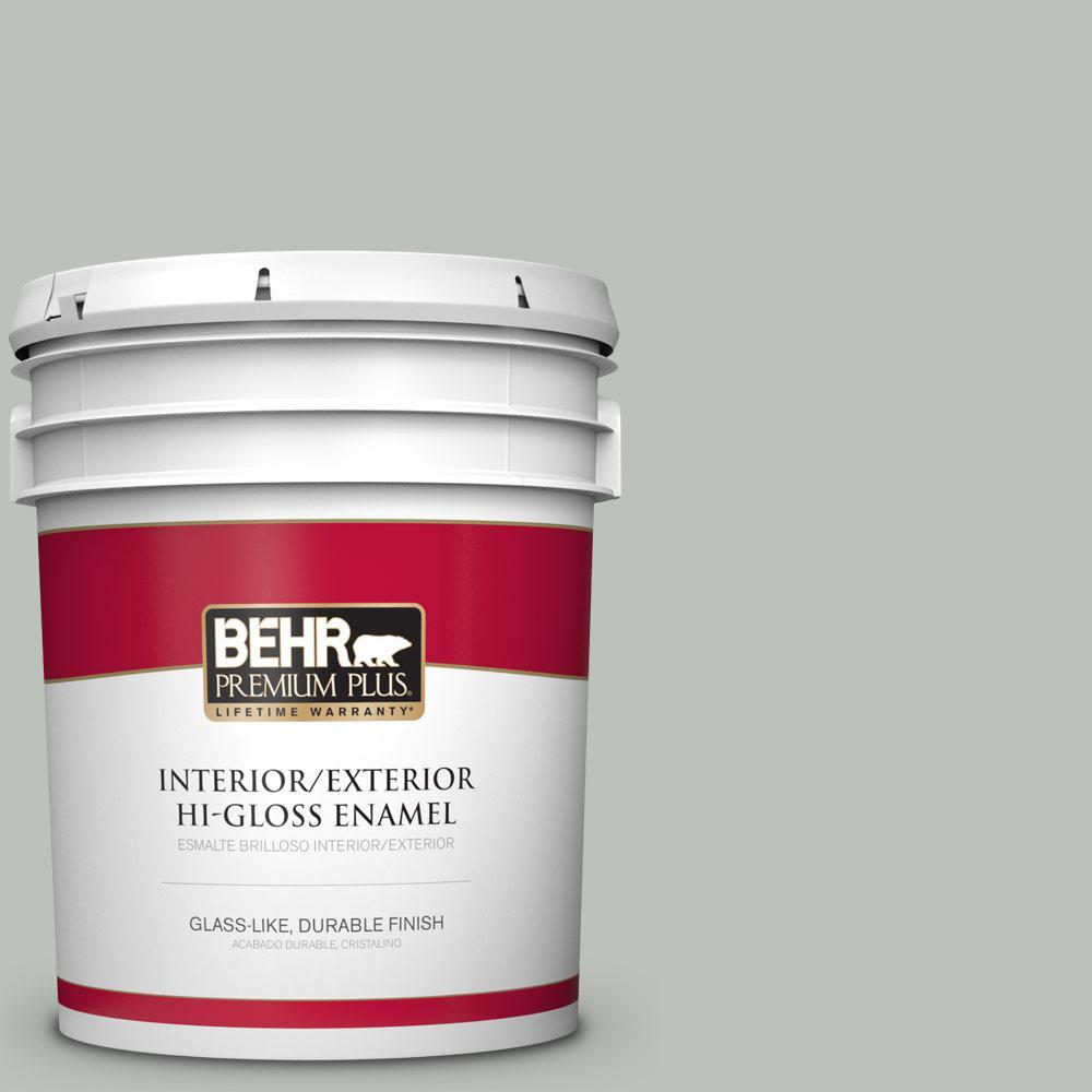 5 gal. #710E-3 Rhino Hi-Gloss Enamel Interior/Exterior Paint