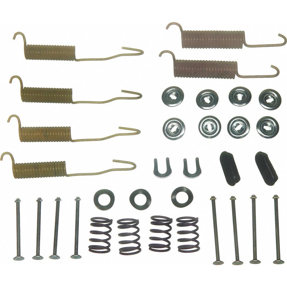 Rear Wagner H7018 Drum Brake Hardware Kit