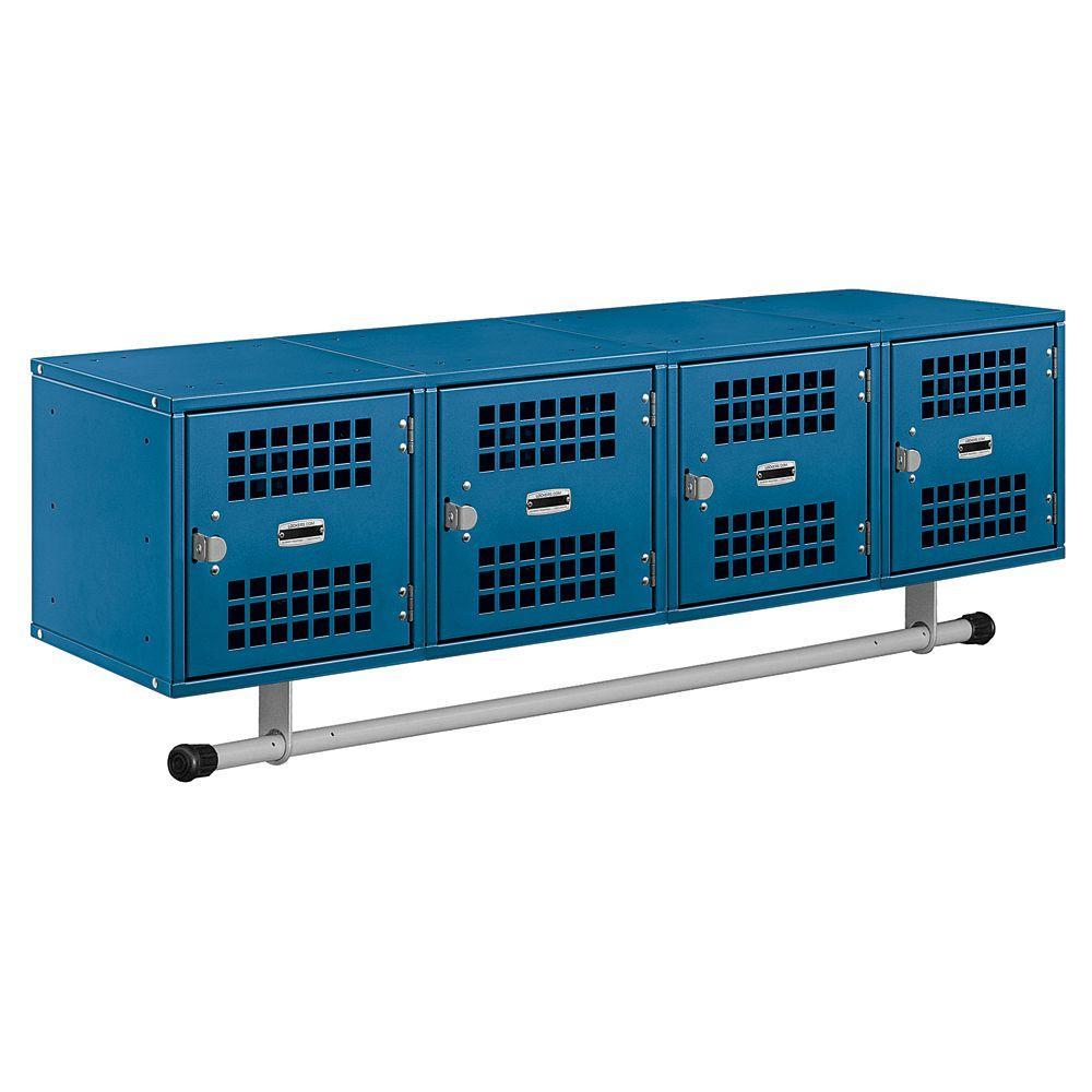 Salsbury Industries 77700 Series 48 in. W x 12 in. H x 12 in. D Box Style Vented Door Wall Mounted Locker in Blue