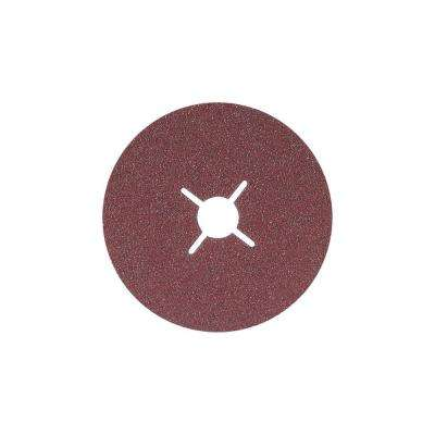 COOLCUT 4.5 in. x 7/8 in. Arbor GR24, Sanding Discs (Pack of 25)