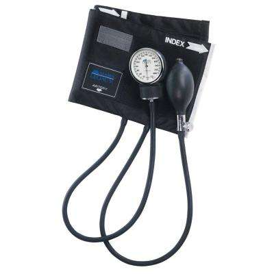 Legacy Latex-Free Aneroid Sphygmomanometers with Black Nylon Cuff for Large Adult