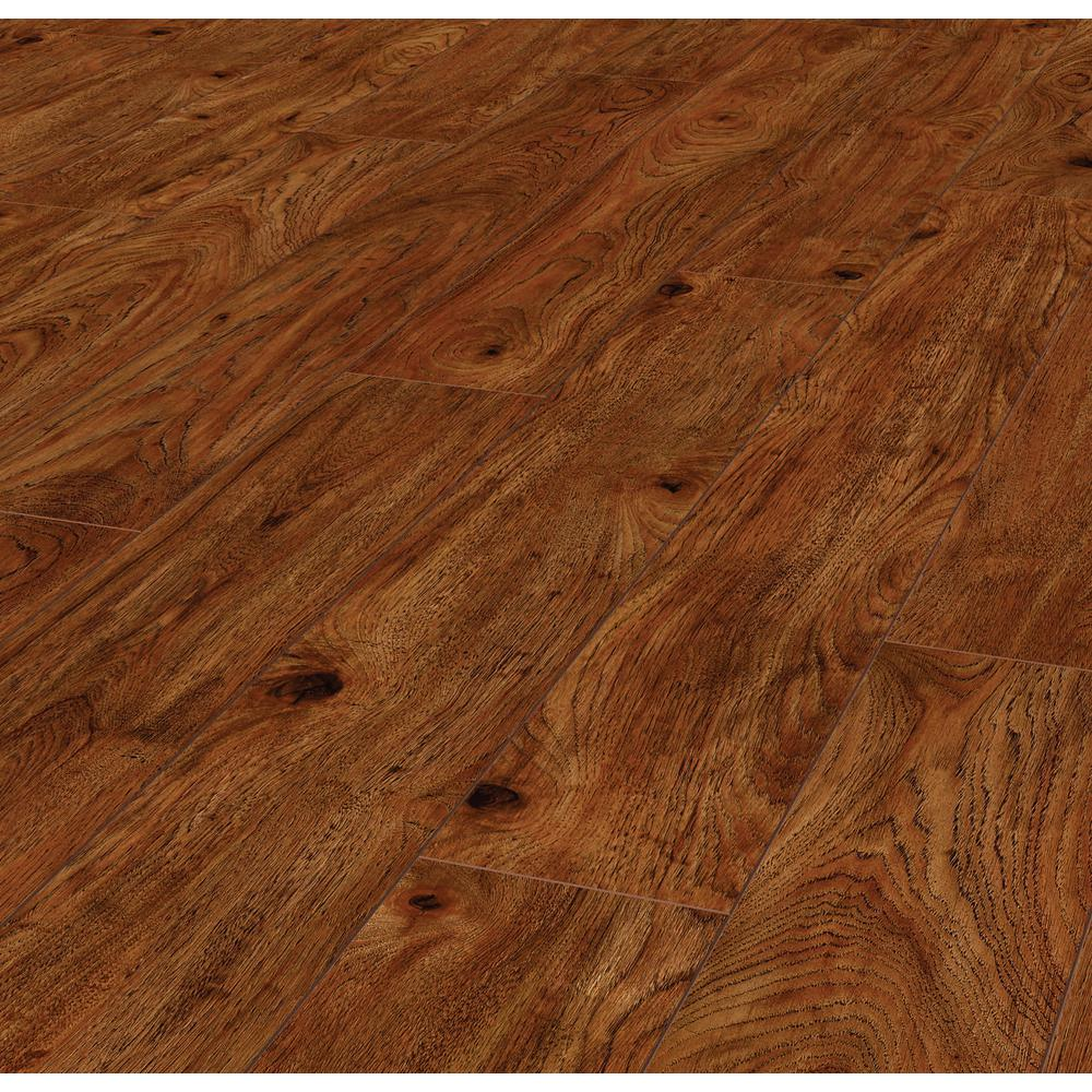 Lifeproof Warm Cinnamon Hickory 12 Mm Thick X 6.1 In. Wide X 47.64 In. Length Laminate Flooring (14.13 Sq. Ft. / Case), Medium