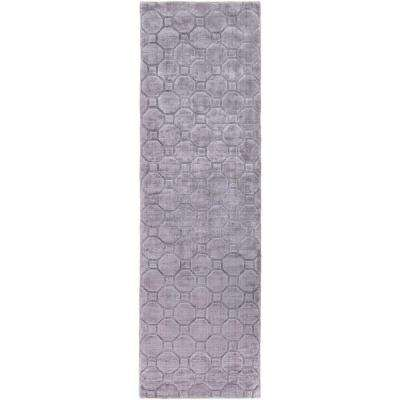 Pembroke  Gray 3 ft. x 8 ft. Indoor Runner Rug