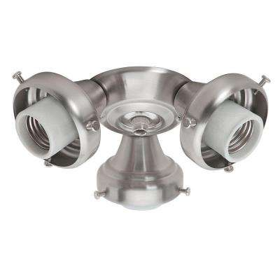 3-Light Brushed Nickel Fitter