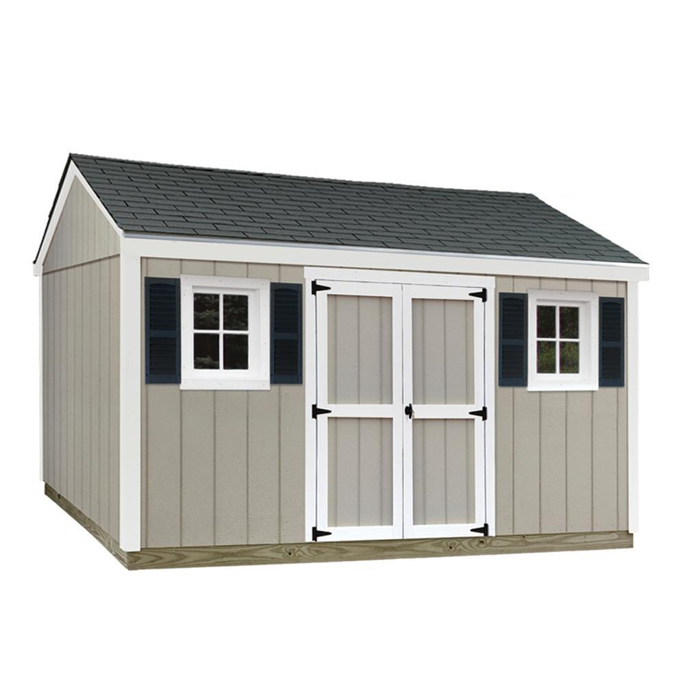 With Floor - Wood Sheds - Sheds - The Home Depot