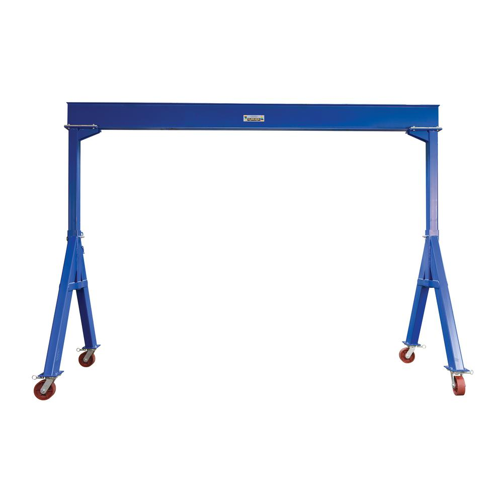 10,000 lb. 10 ft. Capacity Steel Fixed Height Gantry Crane