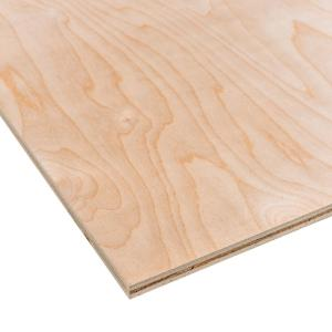 Birch Plywood (Common: 1/2 in. x 2 ft. x 4 ft.; Actual: 0.476 in. x 23.75 in. x 47.75 in.)