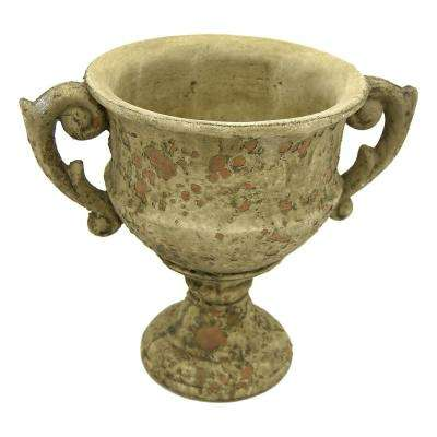 9 in. Grey Footed URN Medium