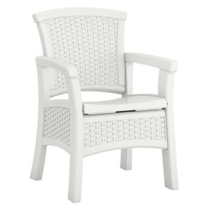 Super Suncast Elements Stationary Resin Outdoor Dining Chair With Storage Bmdc1400Wd The Home Depot Download Free Architecture Designs Rallybritishbridgeorg