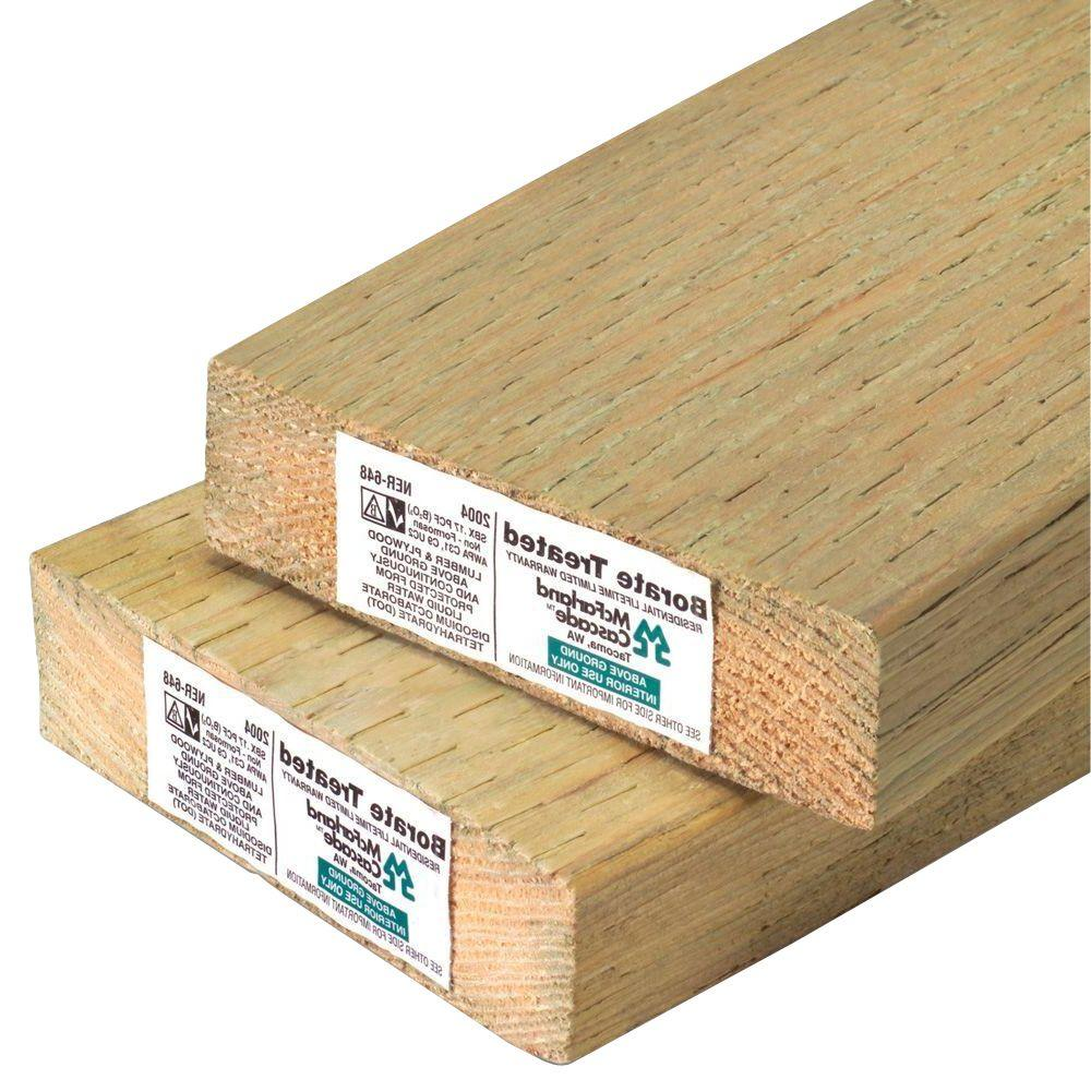 Flooring Plywood Home Depot: 2 In. X 6 In. X 16 Ft. Pressure-Treated Lumber