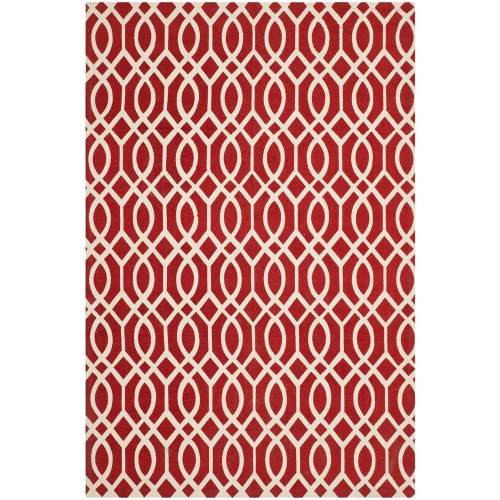 Safavieh Cedar Brook Coral/Ivory 3 ft. x 5 ft. Area Rug