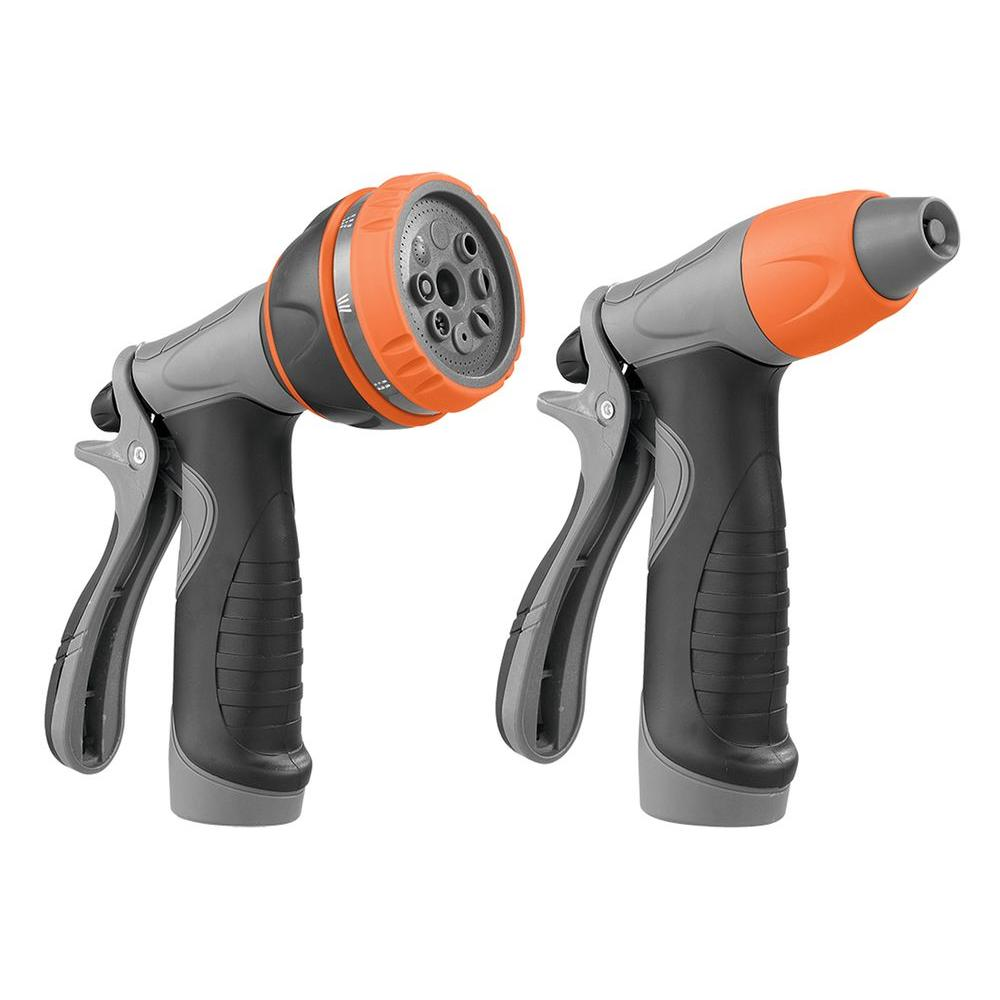 HDX Adjustable Dual Pack 8-Pattern Nozzles