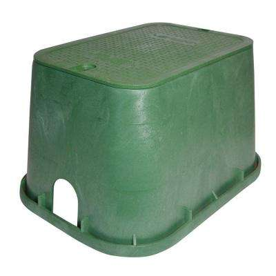 14 in. x 19 in. Standard Valve Box and Drop-In Cover - ICV