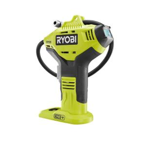 HomeDepot.com deals on Ryobi 18-Volt ONE+ Lithium-Ion Cordless High Pressure Inflator