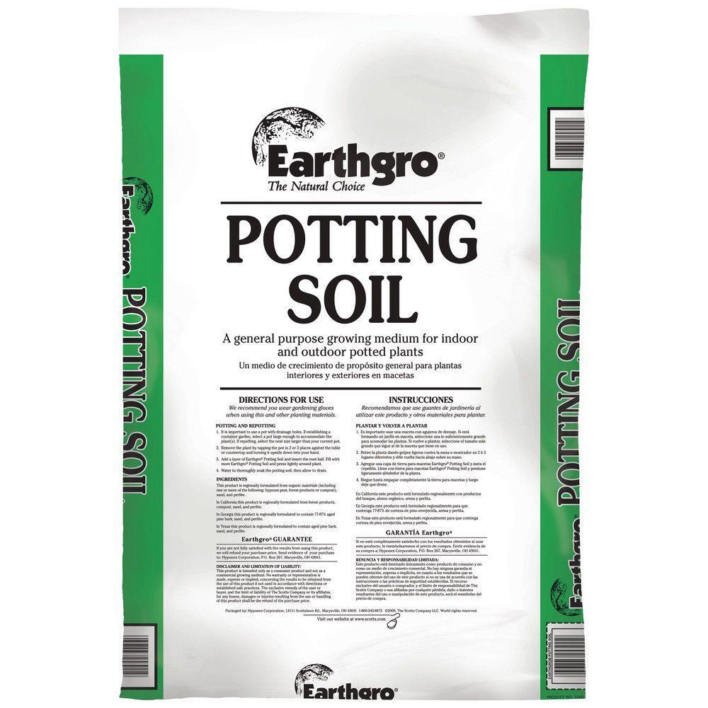 Vigoro 32 qt potting mix 50150146 the home depot for Potting soil