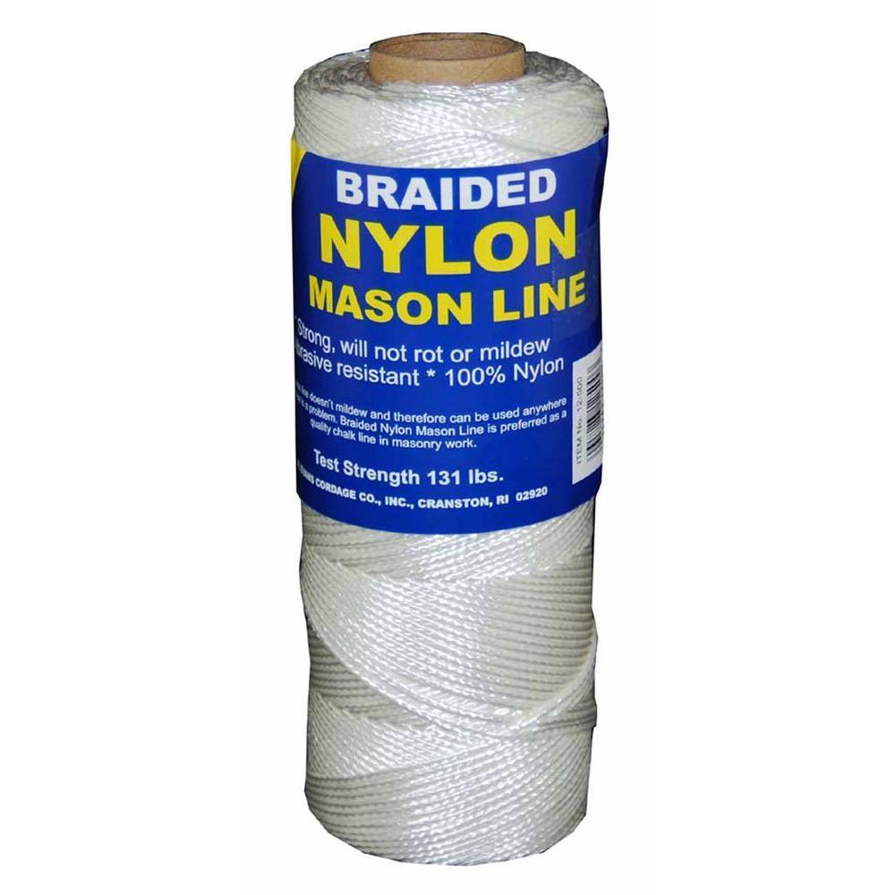 #1 x 500 ft. Braided Nylon Mason in Line