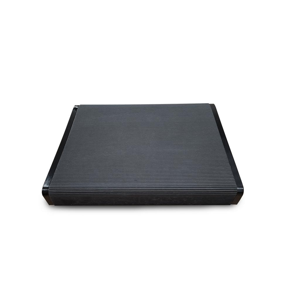 Black Steel Footrest