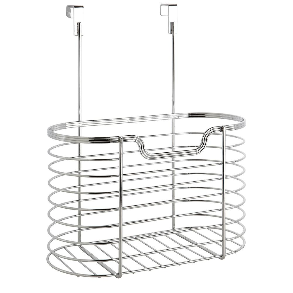 Chrome Large Over the Cabinet Organizer