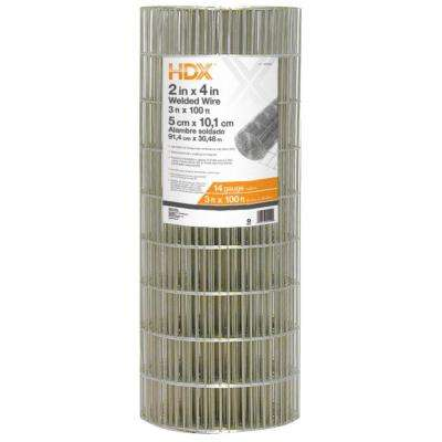 3 ft. x 100 ft. 14-Gauge Welded Wire