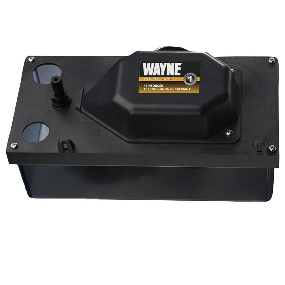 Wayne 1/100 HP Thermoplastic Condensate Pump-DISCONTINUED
