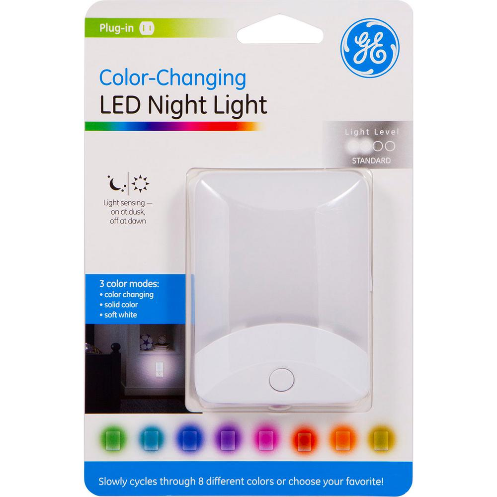 Ge Color Changing Led Night Light
