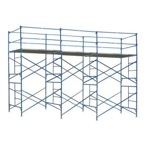 PRO-SERIES 10 ft. x 21 ft. x 5 ft. 2-Story Commercial Grade Scaffold 1,500 lb. Load Capacity by PRO-SERIES