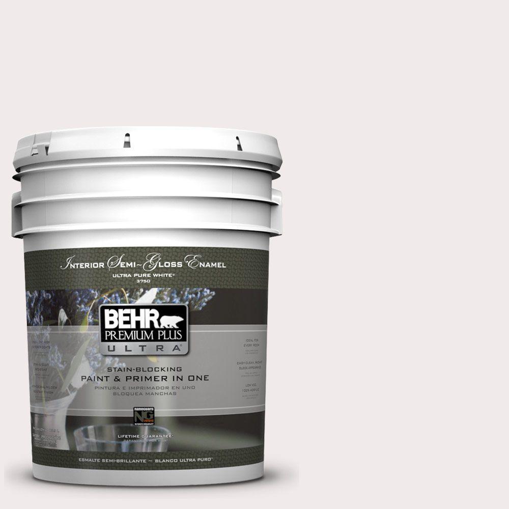 5-gal. #790A-1 White Dogwood Semi-Gloss Enamel Interior Paint