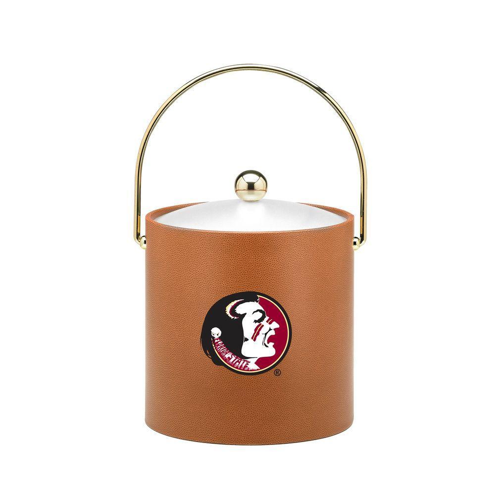Kraftware Florida State 3 Qt. Basketball Texture Ice Bucket