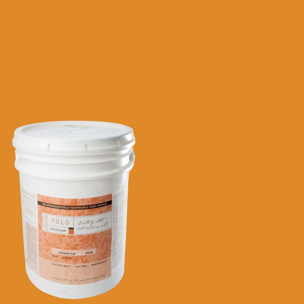 YOLO Colorhouse 5-gal. Petal .01 Flat Interior Paint-DISCONTINUED