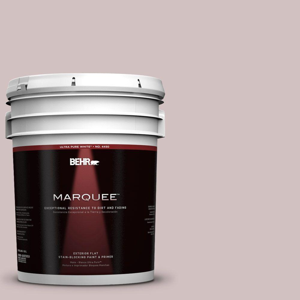 5-gal. #120E-2 French Taupe Flat Exterior Paint