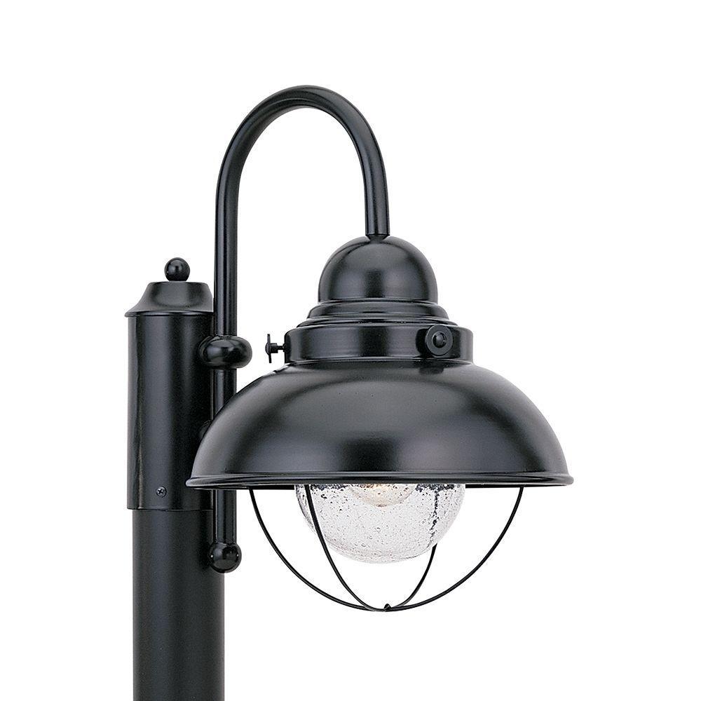 Sebring Black Post Lantern