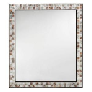 Home Decorators Collection Briscoe 28 inch W x 33 inch L Wall Mirror in Espresso Marble... by Home Decorators Collection