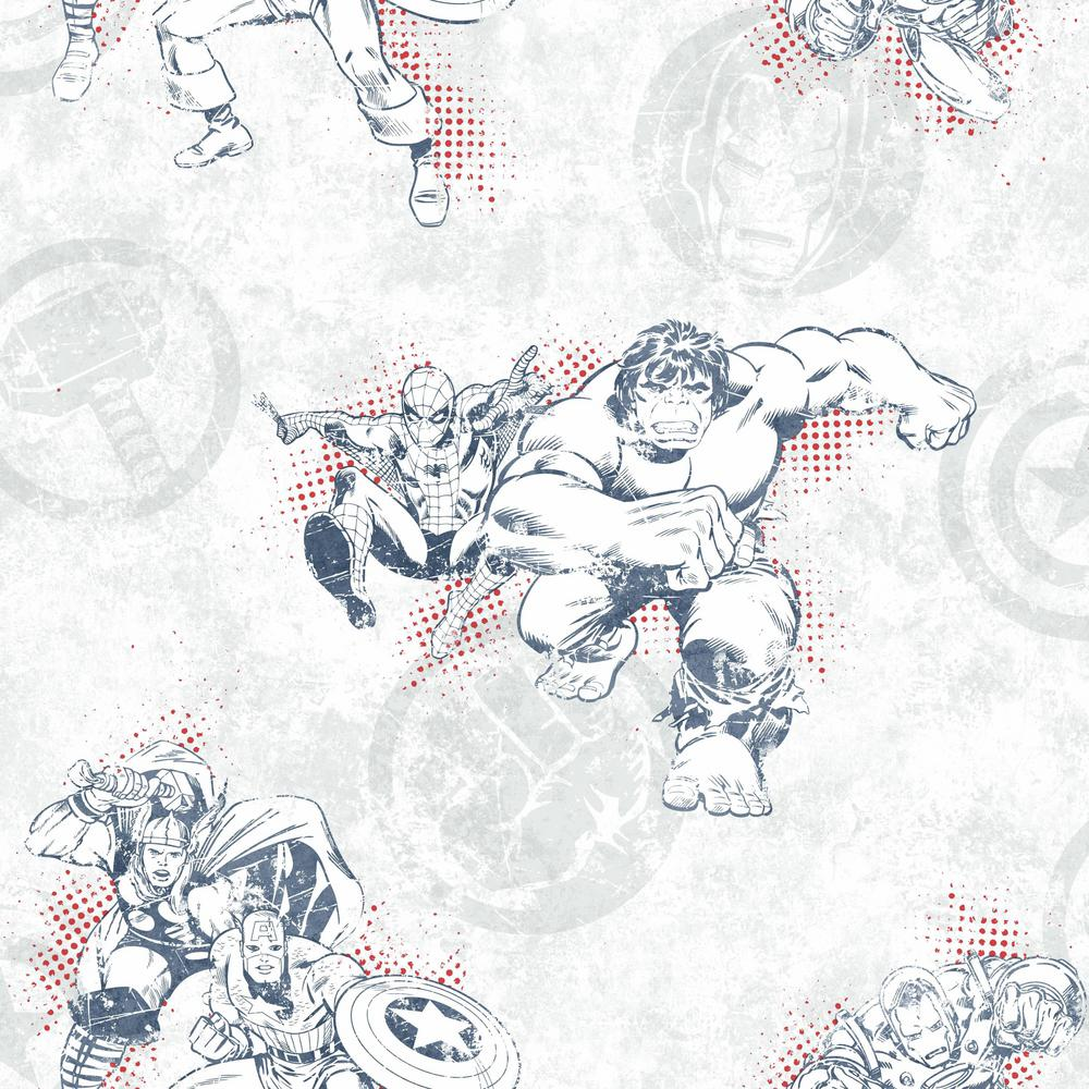 Disney Kids III Marvel Avengers Wallpaper