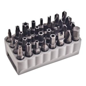 Tamperproof Bit Set (32-Piece)