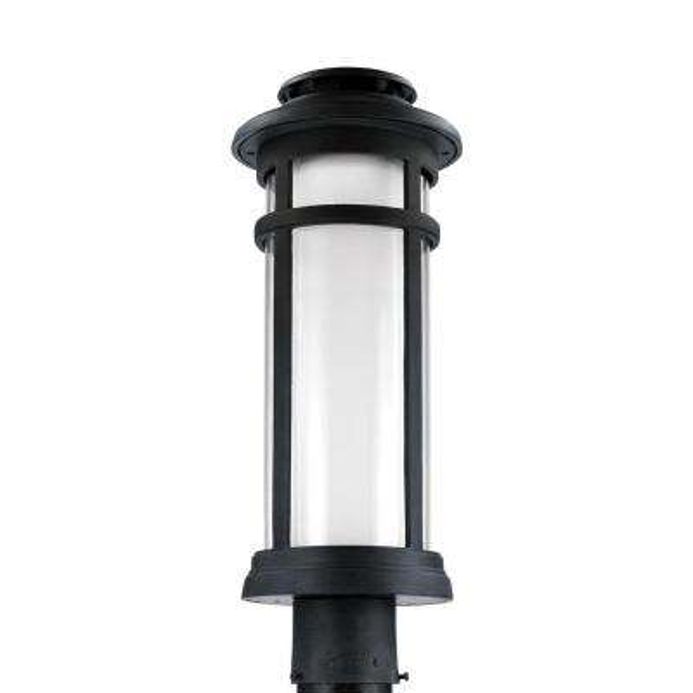 Oakfield Dark Weathered Zinc Outdoor LED Wall Fixture