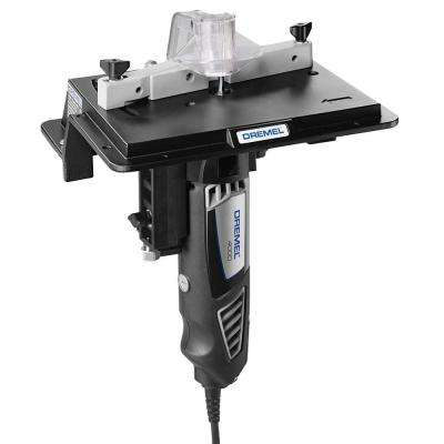Rotary Tool Shaper/Router Table to Sand, Edge, Groove, and Slot Wood