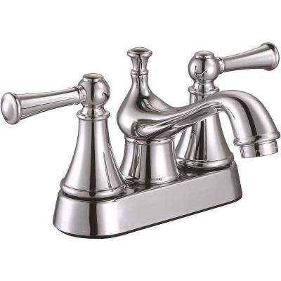 Sonoma 4 in. Centerset 2-Handle Bathroom Faucet in Chrome