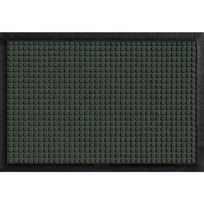 Aqua Shield with Rubber Border Evergreen 17.5 in. x 26.5 in. Pet Mat