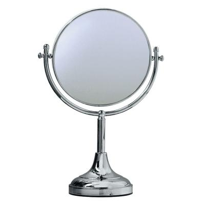 8.75 in. L x 10.5 in. W Decorative Table Makeup Mirror