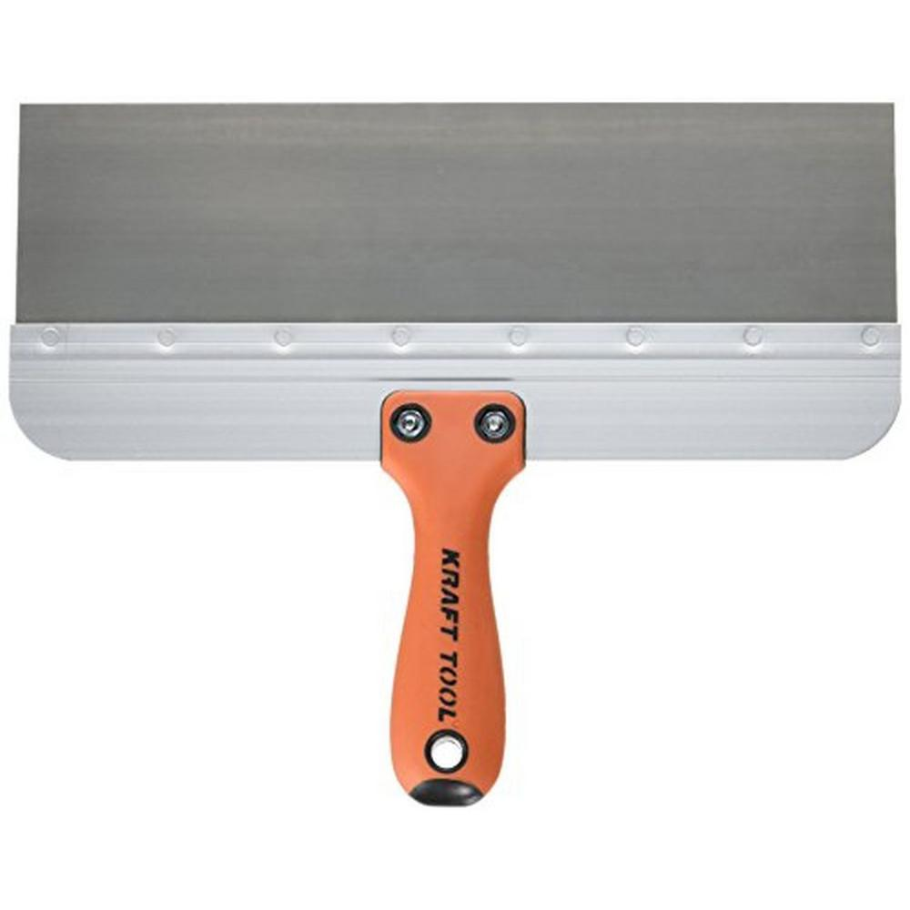 12 in. x 3 in. Stainless Steel Deluxe Taping Knife -