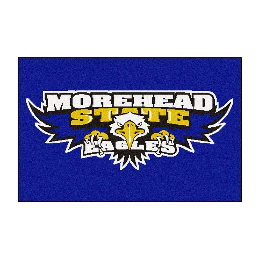 Charmant NCAA Morehead State University Eagles Logo Blue 2 Ft. X 3
