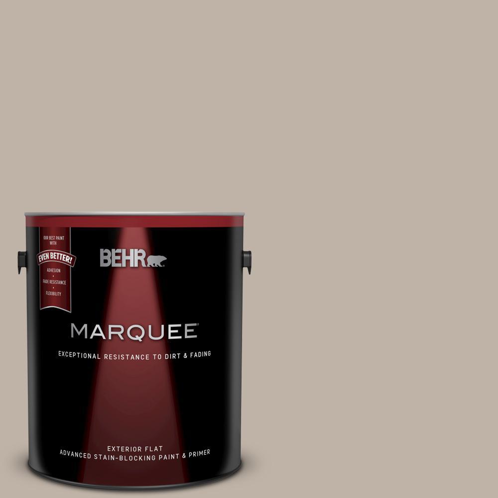 Behr marquee 1 gal n220 3 smokestack flat exterior paint - Behr marquee exterior paint reviews ...