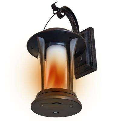 Copper Solar Powered LED Lantern