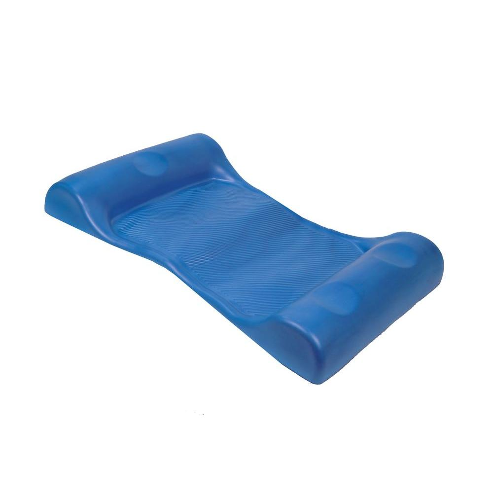 Swim ways aqua hammock blue 63075a the home depot for Pool floats design raises questions