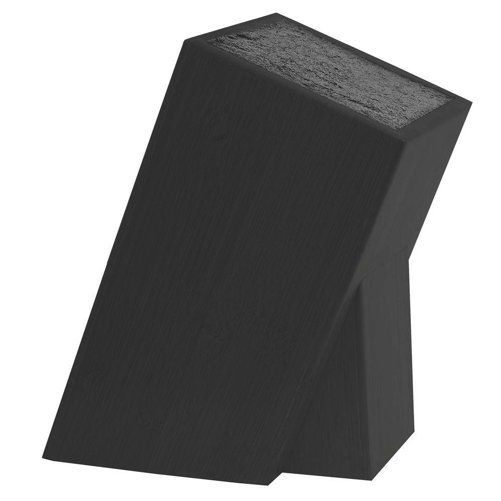 Kapoosh Universal Knives & Utensils Storage Block in Black
